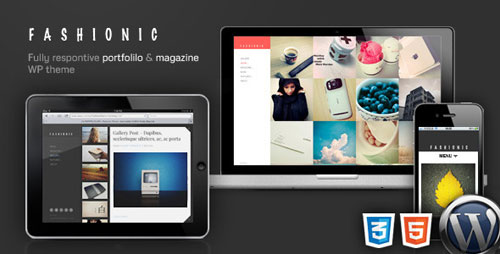 Fashionic - Portfolio/Magazine WordPress Theme - Retina Ready WordPress Theme