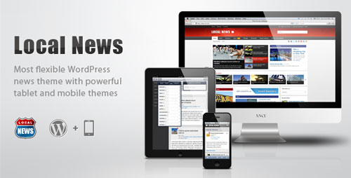 Local News - WP News Theme with Mobile Version - Retina Ready WordPress Theme