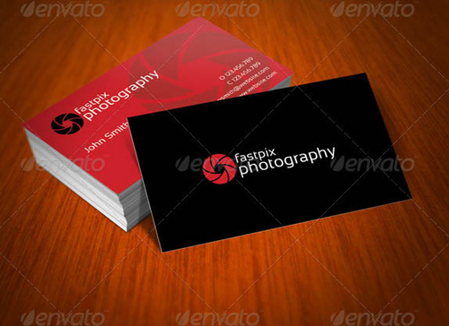 Photographer business card template vatozozdevelopment photographer business card template friedricerecipe Image collections