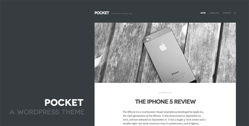 Pocket WordPress Theme - Retina Ready WordPress Theme