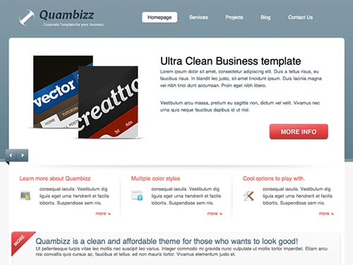 WordPress Themes powered by jQuery and Ajax