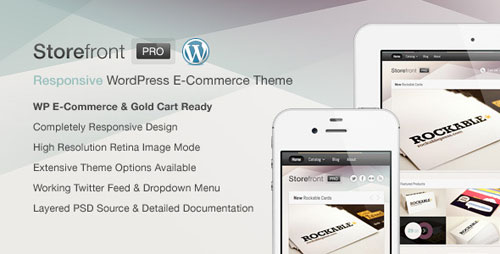 Storefront Pro for WordPress e-Commerce - Retina Ready WordPress Theme