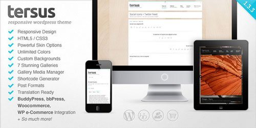 Tersus - Responsive WordPress Theme - Retina Ready WordPress Theme
