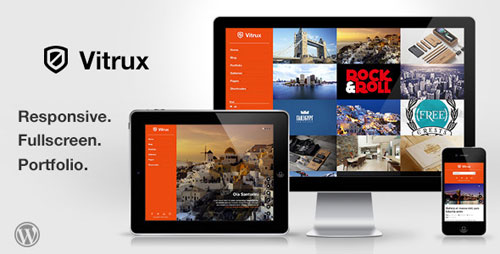 Vitrux - Responsive Fullscreen Portfolio WP Theme - Retina Ready WordPress Theme
