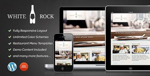 White Rock - Restaurant & Winery Theme - Retina Ready WordPress Theme