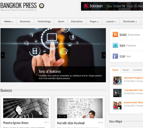 Responsive Magazine WordPress Themes