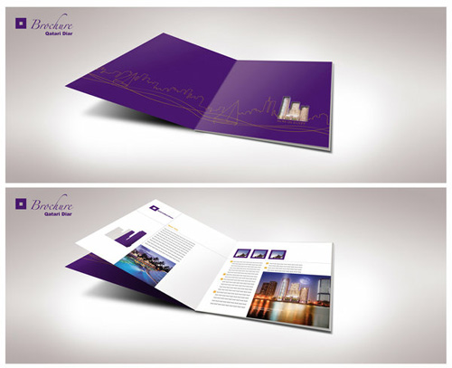 classy brochure design - creative brochure design samples for inspiration