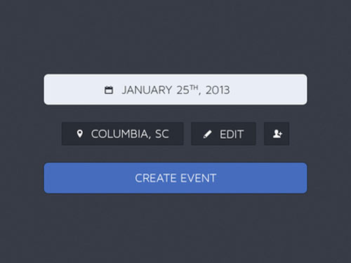 event creation psd