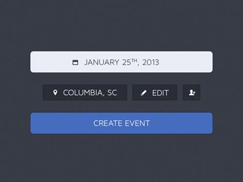 event creation psd