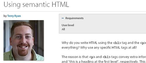 Useful HTML5 Tutorials