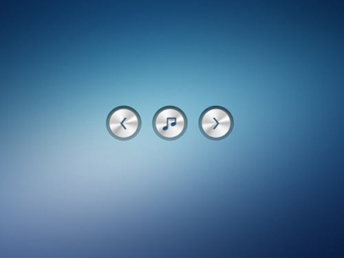 metallic buttons
