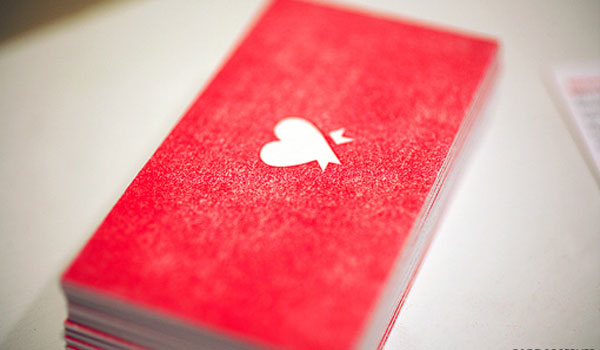 Red Business Card  - Red Business Cards