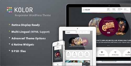Retina Ready WordPress Themes
