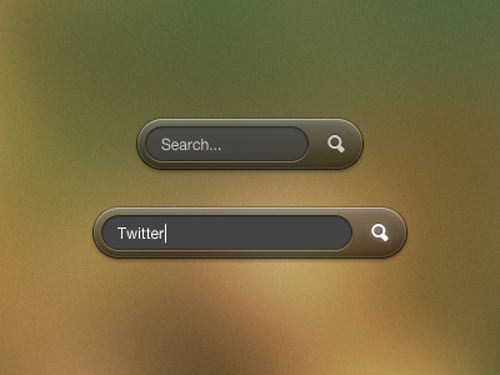 search ui psd