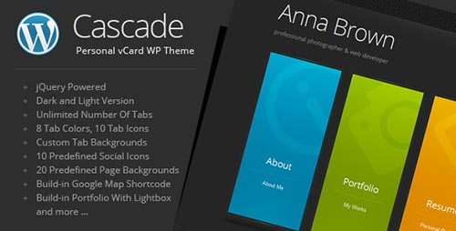 vCard WordPress Themes
