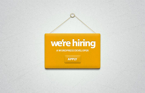 we are hiring badge psd