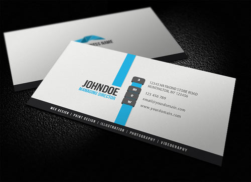 white-business-cards