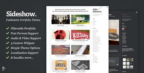 WordPress Portfolio Themes