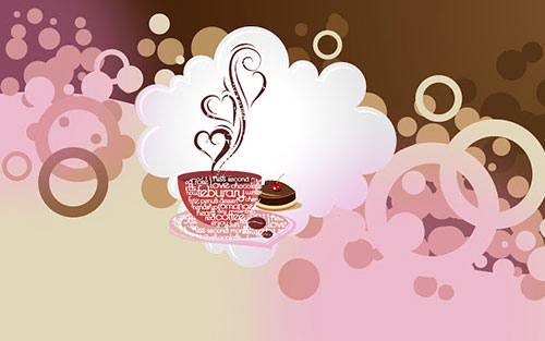 Coffee With Love Wallpaper