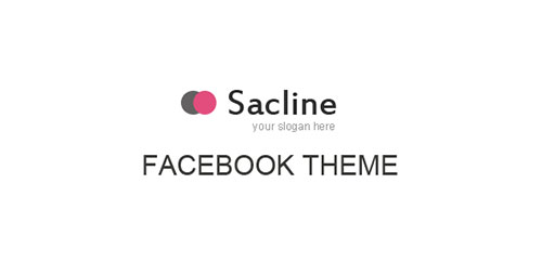 Sacline Facebook Template
