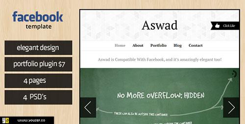 Aswad   Facebook Template