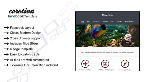 Corotiva - Facebook Business Template