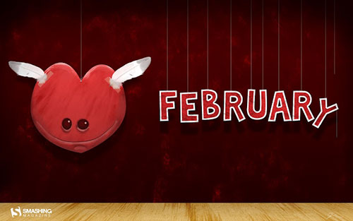 February HD Wallpaper