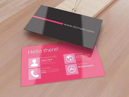 metro business card 02 Metro Style Business Cards Inspiration