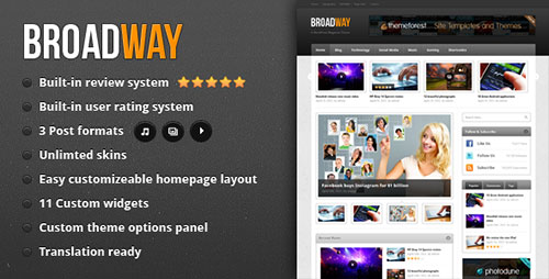 Broadway - A WordPress Magazine Theme