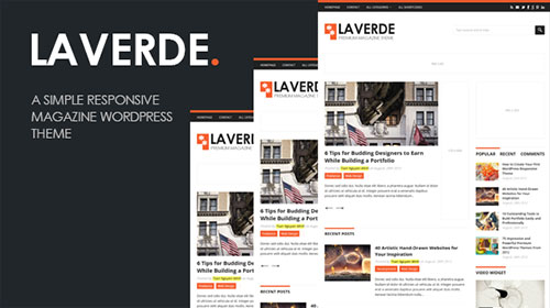Laverde : A Responsive Magazine WordPress Theme