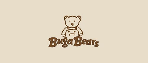 25 Teddy Bear Logo Design Inspiration