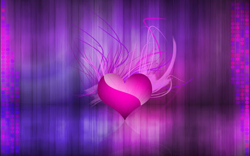 Valentine Day Abstract Wallpaper