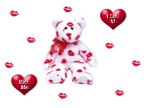 Teddy Bear I Love You Wallpaper