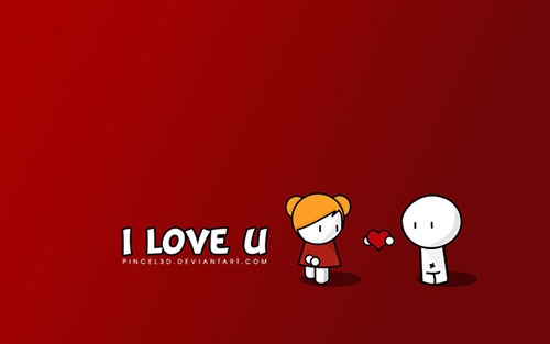 I Love You Valentines Day Wallpaper