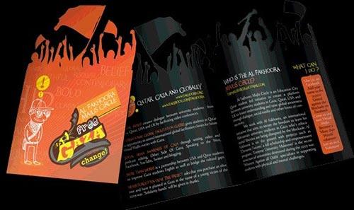 Die Cut Brochure Designs