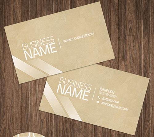 Free PSD Business Cards