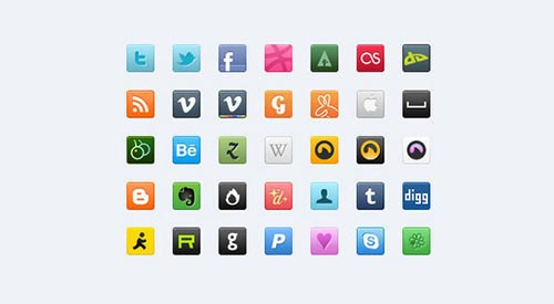 Free High Quality Icons PSD
