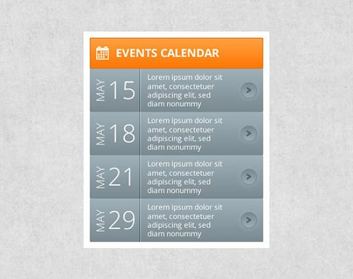 Design Calendar Of Events : Free psd calendar designs