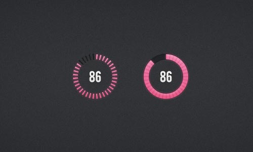 Free PSD Loading Bars