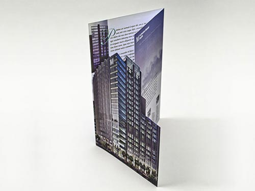 Die Cut Brochure Designs
