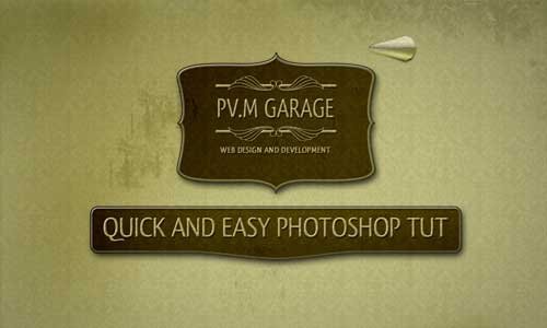 Retro and Vintage Photoshop Tutorials