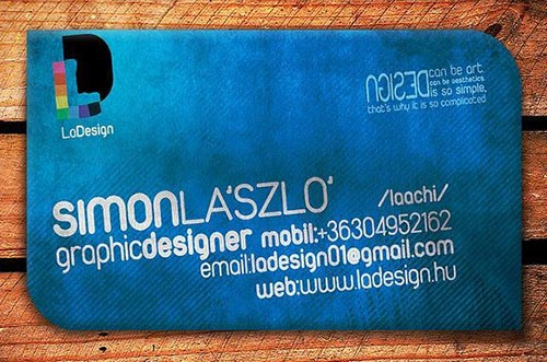 Blue Business Cards