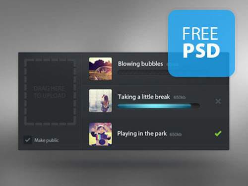 70 Free PSD Files for Designers