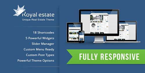 Real Estate WordPress Themes of 2013