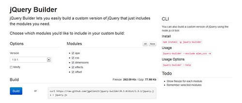 New jQuery Plugins