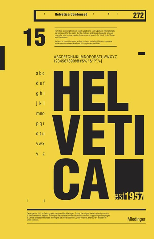 Beautiful Helvetica Poster