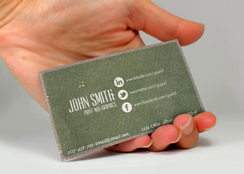 Beautiful Vintage Business Card Inspiration