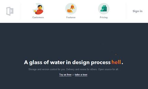 Flat Web Designs