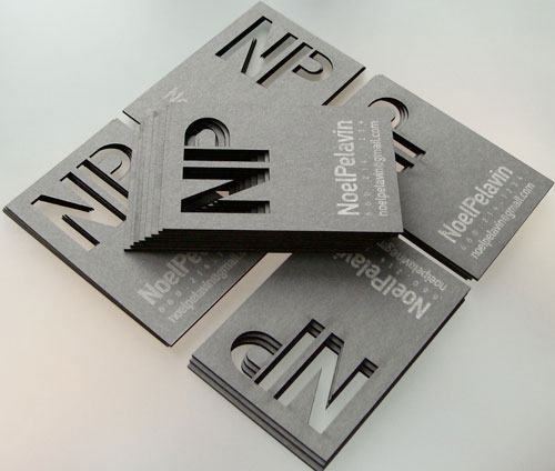 20 Creative Laser Cut Business Cards