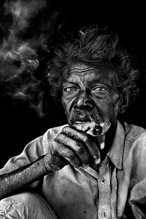Beautiful Black and White People Photography